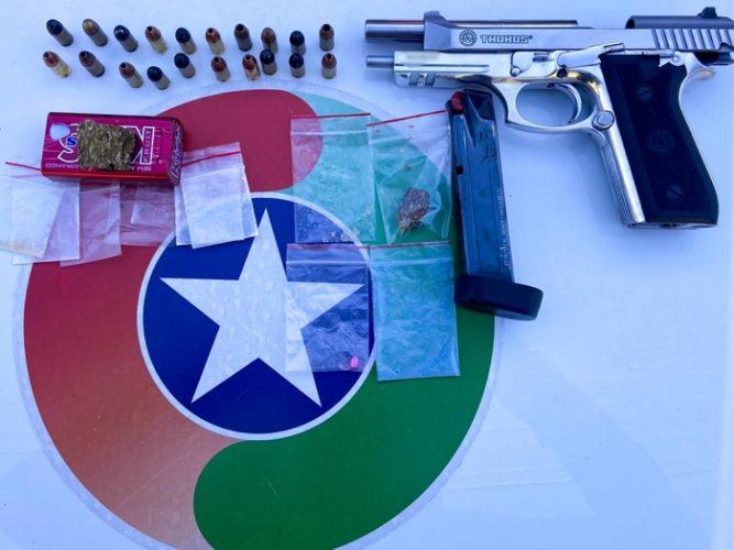 Maconha; MDMA, ecstasy foram os entorpecentes encontrados nos carros do grupo que pernoitou no motel – Foto: Polícia Militar de Jaraguá do Sul/Divulgação ND