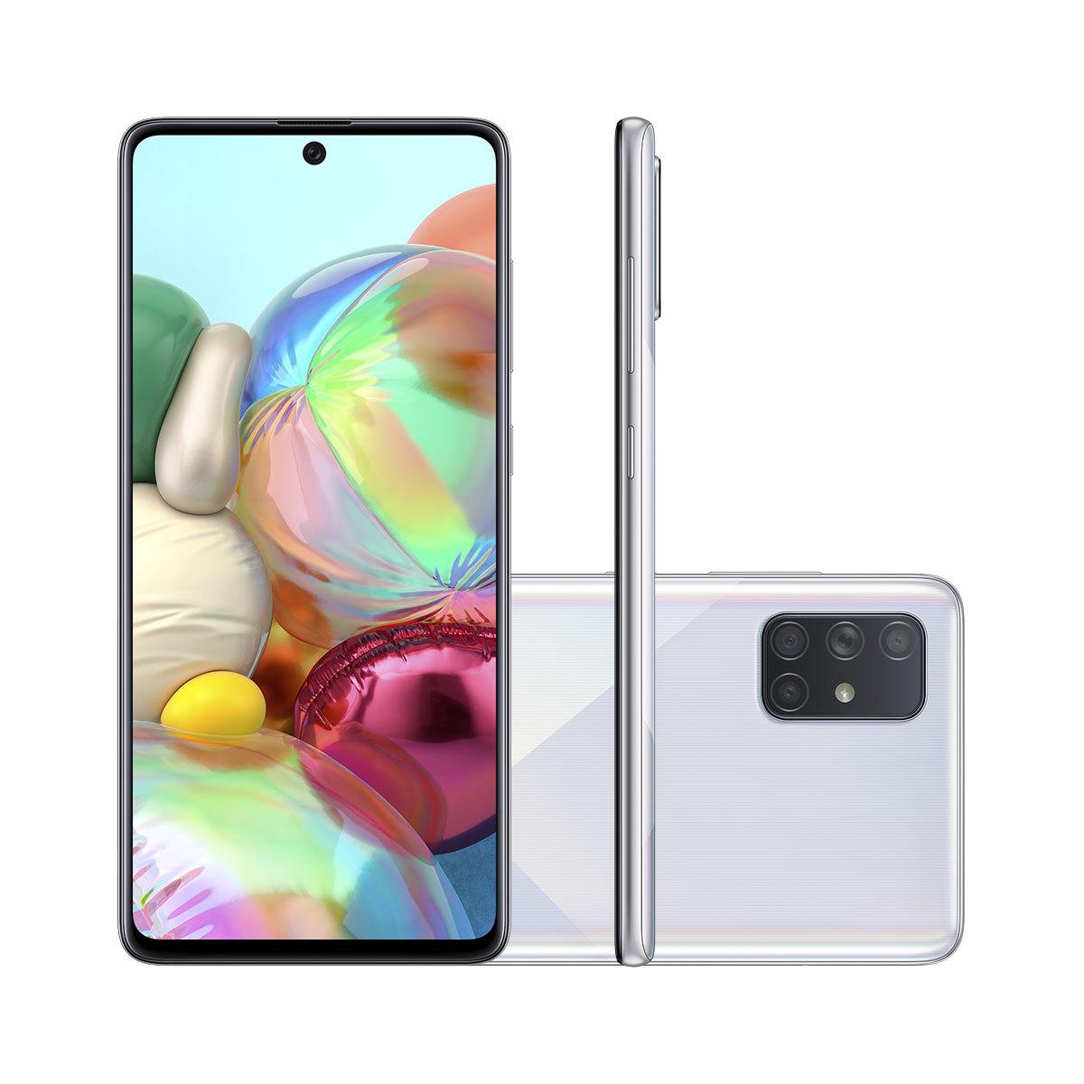 6. Samsung Galaxy A71 – Menor preço: R$ 1.899 - Crédito: Divulgação/Samsung/33Giga/ND
