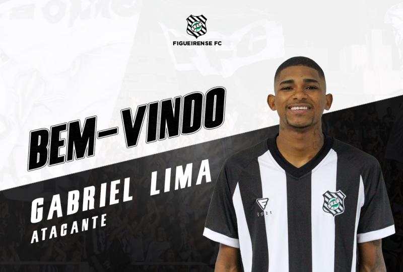 Clube fez o anúncio em seu site oficial – Foto: ARTE-BEM-VINDO-GABRIEL-LIMA-SITE-1024×693