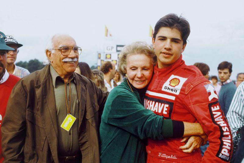 Wilson e Juzy Fittipaldi, avós do piloto brasileiro - Foto: Divulgação/Acervo Pessoal/Garagem 360/ND