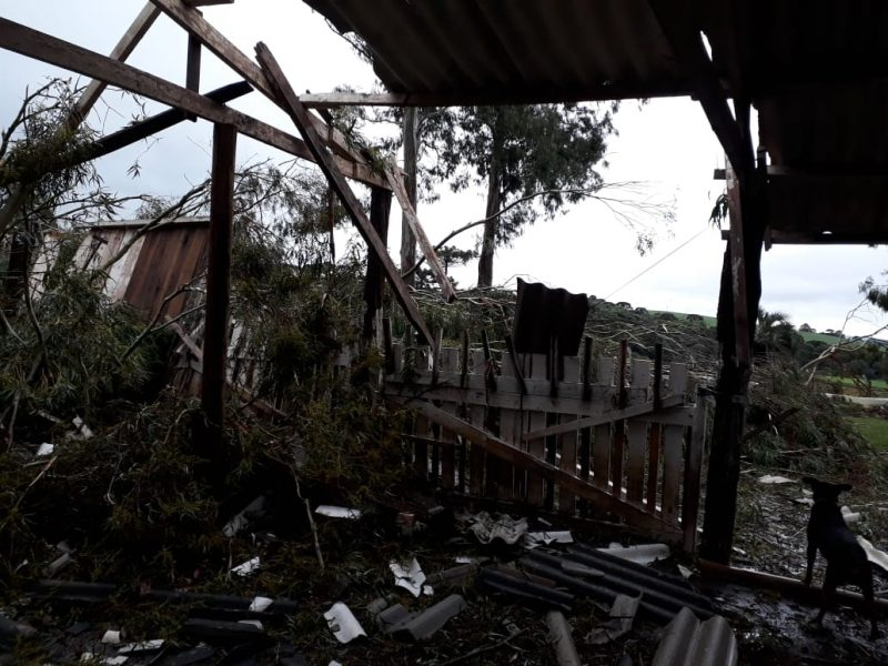 Civil Defense will investigate what caused the destruction in Belmonte, Descanso and Iporã do Oeste - Press Release / ND