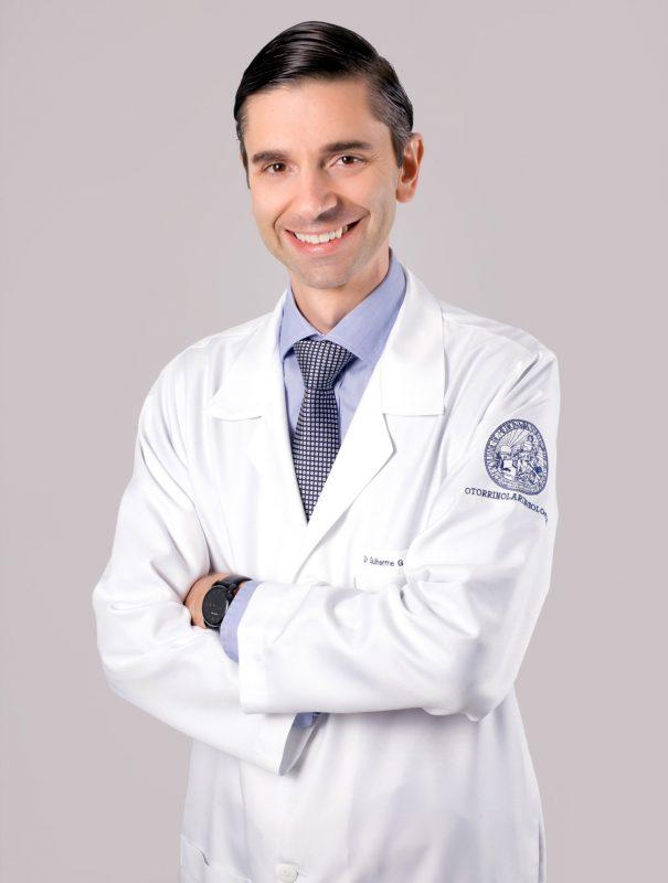 Dr. Guilherme Guerra Orcesi da Costa, médico otorrinolaringologista – Foto: Divulgação