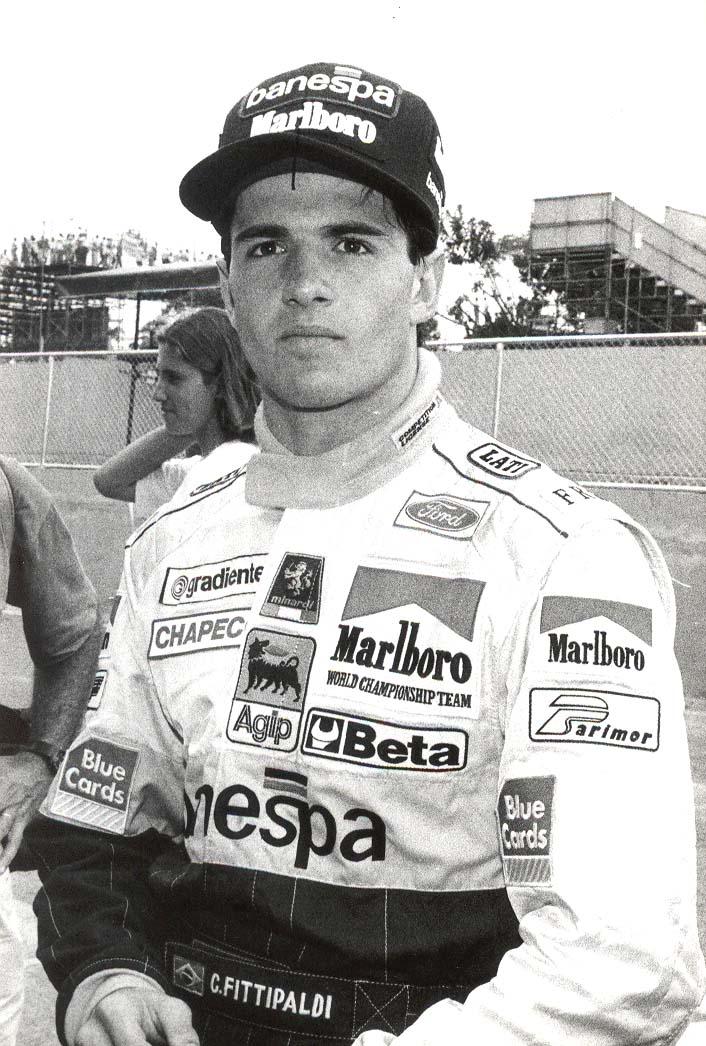 Christian Fittipaldi na F1 em 1993 - Foto: Divulgação/Acervo Pessoal/Garagem 360/ND