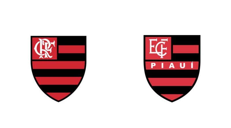 O milionário Flamengo virou inspiração para o modesto Flamengo do Piauí - Reprodução