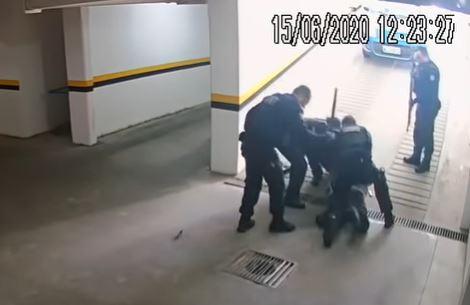 Vídeo que flagra abordagem policial teve grande repercussão – Foto: Reprodução/ND