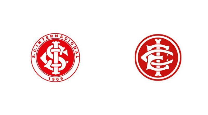 O tri campeão brasileiro, Internacional, tem um xará em seu próprio estado, o Inter de Santa Maria, que além do nome, se inspirou também no escudo do Colorado, o Inter de Santa Maria - Reprodução