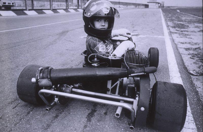 Christian nos tempos do kart - Foto: Divulgação/Acervo Pessoal/Garagem 360/ND