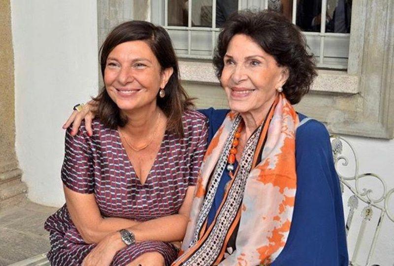 Daisy Benvenutti, passando longa temporada em Milão, e a filha, Paola Jacobbi, que mora lá e troca de idade neste sábado (6) – Foto: Divulgação/ND