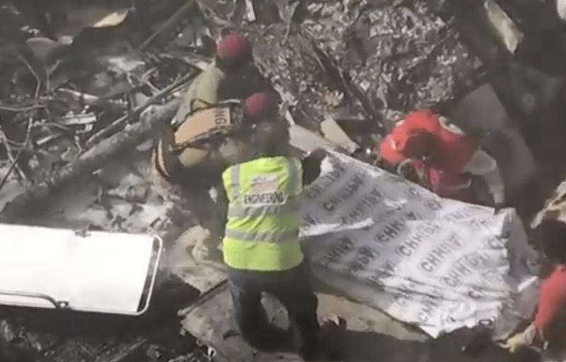 Acidente no Paquistão causou 97 mortes – Foto: Reprodução