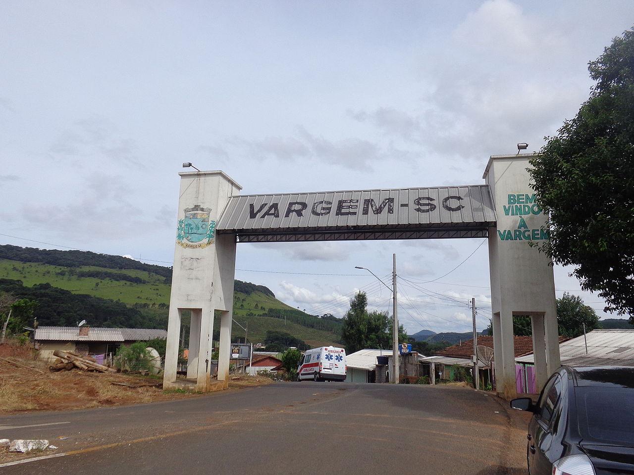 O município de Vargem fica no Meio-Oeste do Estado. Sua população estimada em 2010 era de 2.808 habitantes. A cidade fica localizada a cerca de 314 km de Florianópolis. - Reprodução/ND
