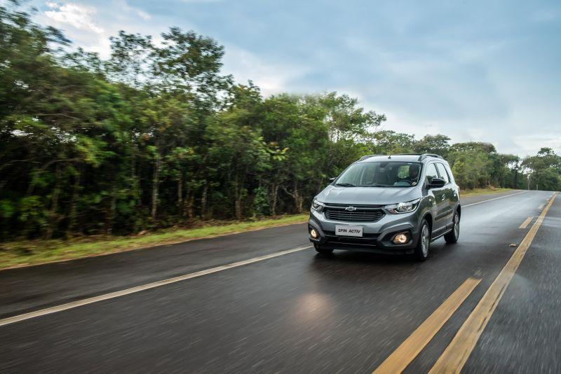 Chevrolet Spin ganha novos itens de série - Foto: Divulgação/Chevrolet