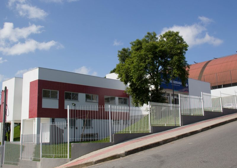 Unidade Básica de Saúde da Serraria, inaugurada em novembro do último ano, é a maior UBS de São José- PMSJ/Divulgação/ND