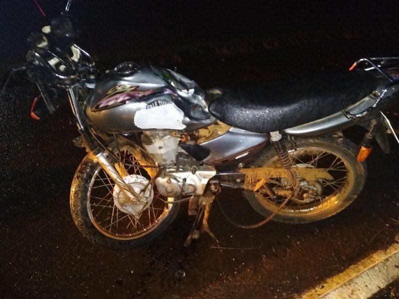 Acidente na BR-282 resultou na morte de um jovem de 18 anos – Foto: PRF/Divulgação/ND