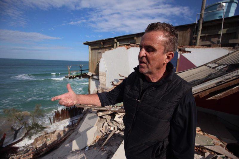 Décio Urbano tinha casa na região há quase duas décadas – Foto: Anderson Coelho/ND