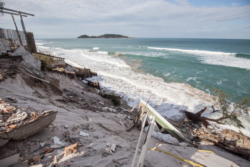 Mar agitado deve marcar a quinta-feira em Santa Catarina – Foto: Anderson Coelho/Arquivo/ND