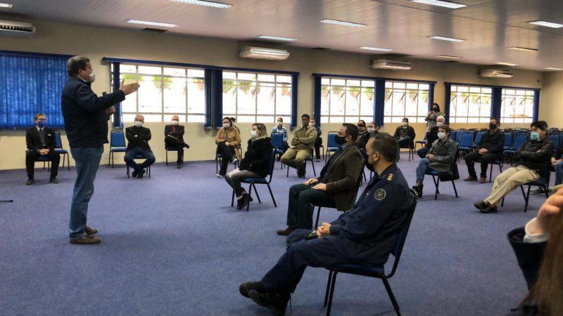 Reunião ocorre no Centro de Eventos de Chapecó – Foto: Willian Ricardo/ND