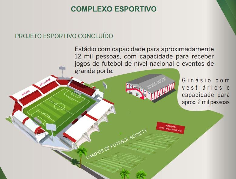 Expectativa é de construir um complexo esportivo para o clube – Foto: CAC/Divulgação/ND