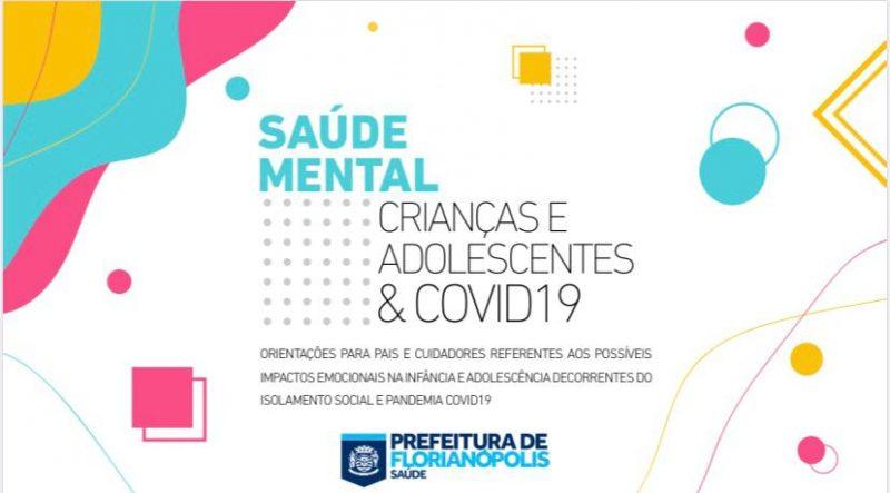 Cartilha sobre saúde mental é desenvolvida e disponibilizada em Florianópolis – Foto: Divulgação/Prefeitura de Florianópolis