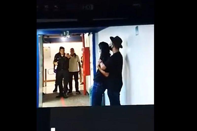 Homem invadiu sede do Jornalismo da TV Globo, no Jardim Botânico (RJ) – Foto: Leo Dias/Metrópoles/Reprodução