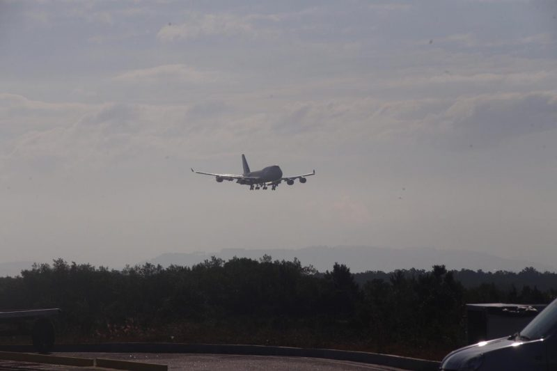 According to Floripa Airport, the improvements made at the site allowed the capital's airport to be certified to receive this type of airplane and transform the city into a new one.