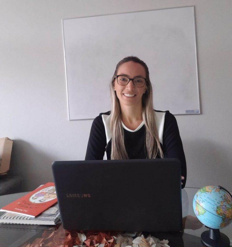 Fernanda Scussel Ferreira Lima é professora do 3º ano do ensino fundamental – Foto: Acervo pessoal/ND