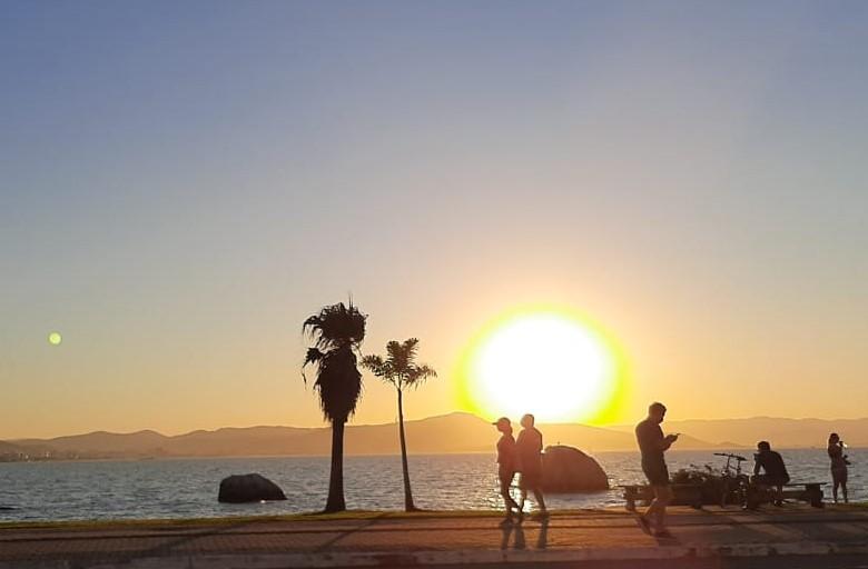 Santa Catarina deve ter temperaturas elevadas no fim de semana – Foto: Juliano Zanotelli/Divulgação/ND