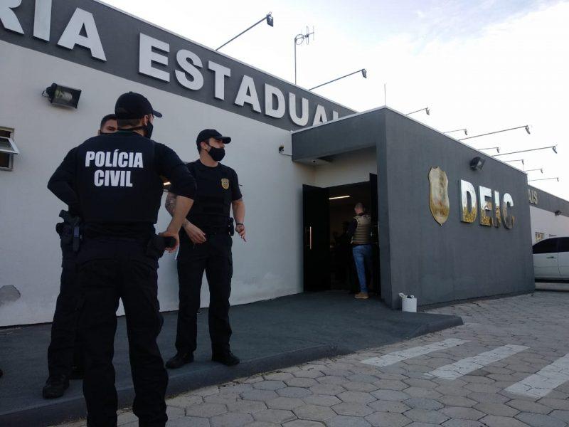 Operação Network foi deflagrada pela Polícia Civil nesta quinta-feira – Foto: Polícia Civil/Divulgação/ND