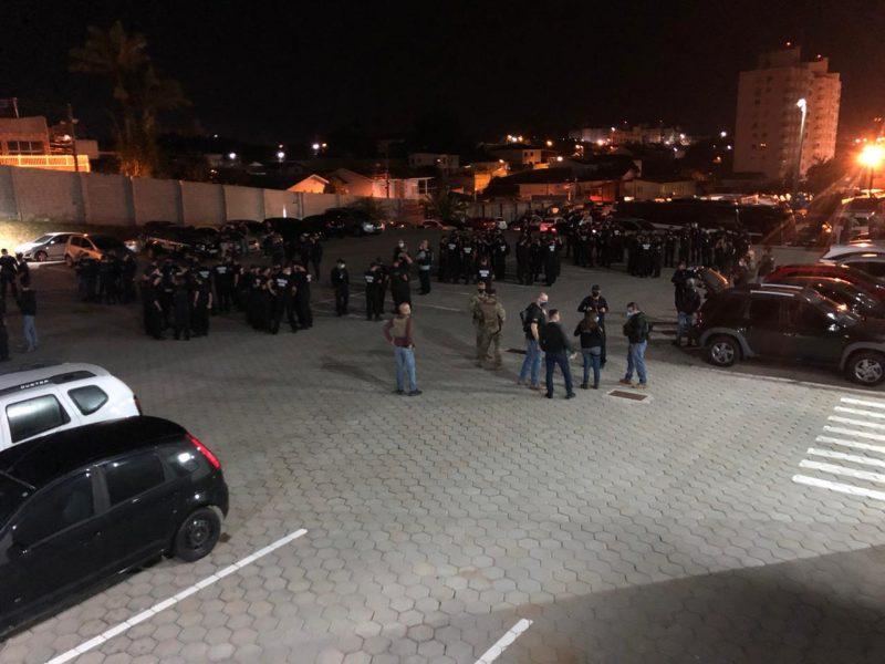 Operação cumpre 150 mandados contra organização criminosa – Foto: Polícia Civil/Divulgação/ND
