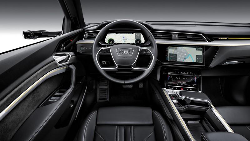 Audi e-tron - Foto: Divulgação/Audi /Garagem 360/ND