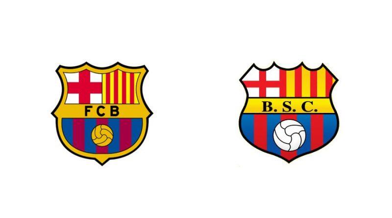 """O poderoso Barcelona, de Messi, tem seu """"parente"""" aqui na América do Sul. O Barcelona do Equador - Reprodução"""