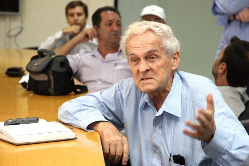 Belmiro Sauthier morreu na tarde deste domingo (21), em Florianópolis – Foto: Divulgação/Prefeitura de São José