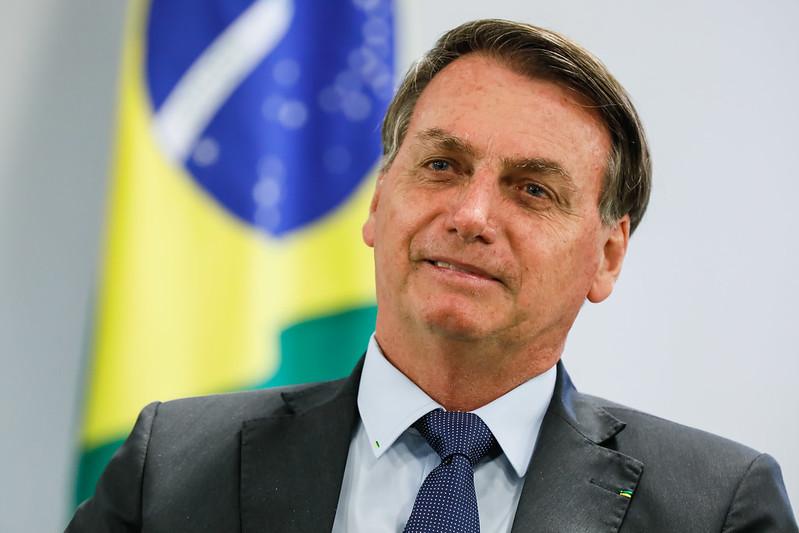 Jair Bolsonaro reclamou sobre a conduta do STF em entrevista – Foto: Isac Nóbrega/PR