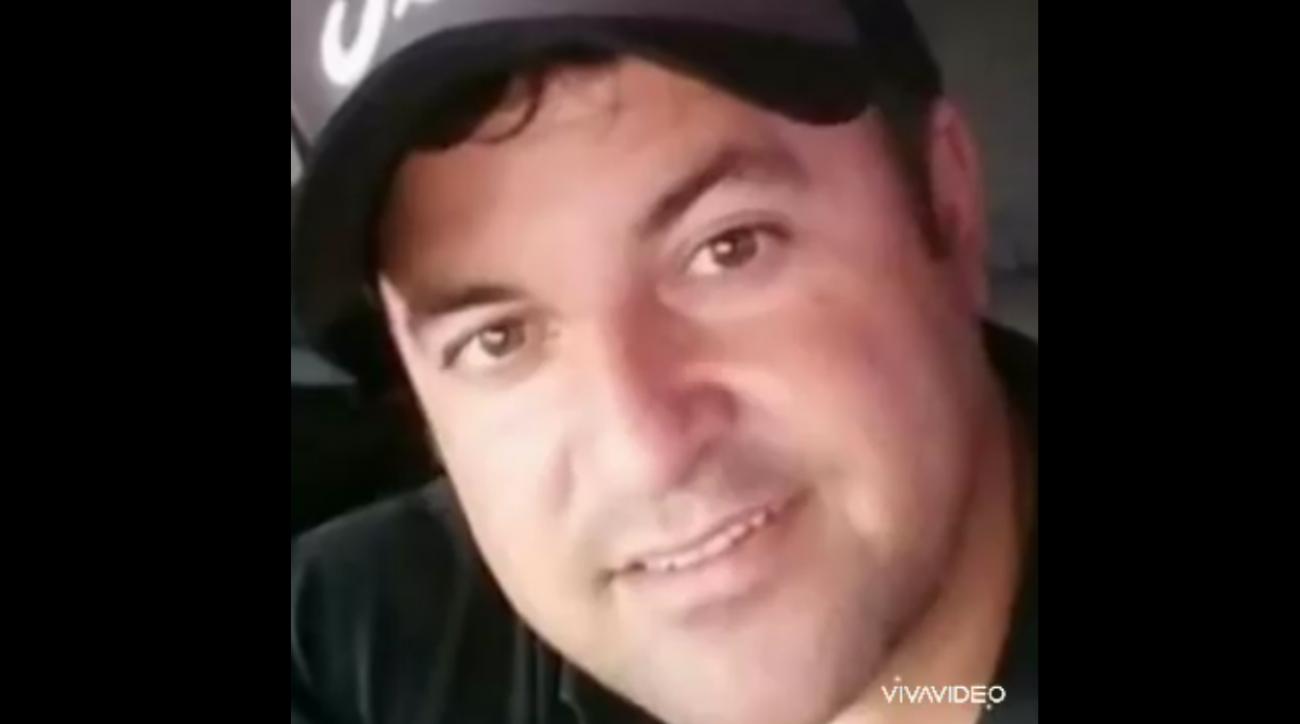 """O caminhoneiro Adilson Bortoncello, de 37 anos, morreu de Covid-19 no dia 7 de junho. Ele era morador de Dionísio Cerqueira, no Oeste catarinense, e estava internado no Hospital Regional Terezinha Gaio Basso, em São Miguel do Oeste. O contágio ocorreu no final de maio, durante uma viagem a trabalho, fora do Estado. Adilson tinha sobrepeso. Confira reportagem completa: <a href=""""https://bit.ly/2Yguims"""">https://bit.ly/2Yguims</a> - Reprodução Redes Sociais/ND"""