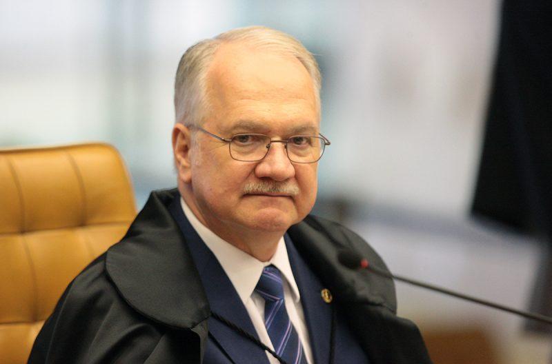 Fachin votou a favor do inquérito das fake news – Foto: Carlos Moura/SCO/STF