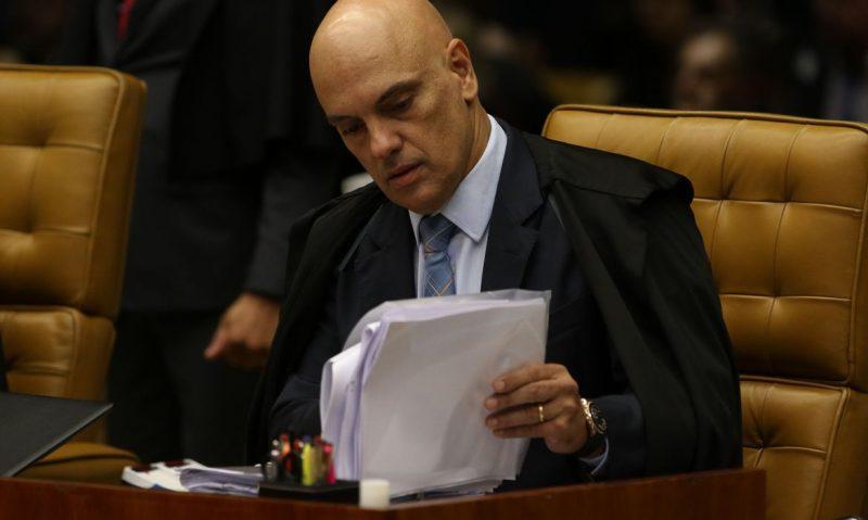 Ministro Alexandre de Moraes, é relator do inquérito que apura a divulgação de notícias falsas e ameaças contra ministros do STF – Foto: Fabio Rodrigues Pozzebom/Agência Brasil/ND