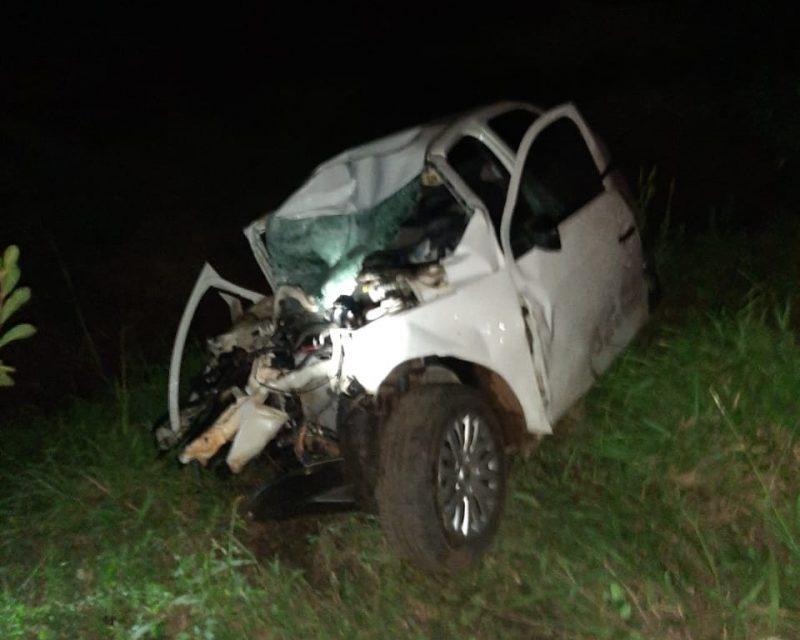 Homem morreu após colisão frontal com caminhão na BR-282 – Foto: Reprodução/ND