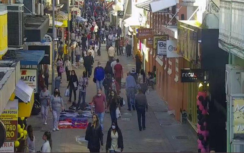 índice de isolamento social diminuiu em Santa Catarina – Foto: Videomonitoramento/SSP/Divulgação/SSP