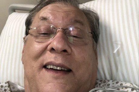 Milton Neves está hospitalizado em São Paulo – Foto: Reprodução/Twitter