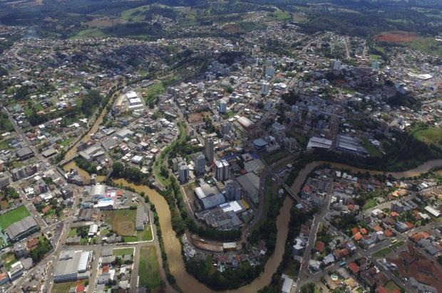 Caçador, cidade localizada no Oeste de SC – Foto: Reprodução/ND