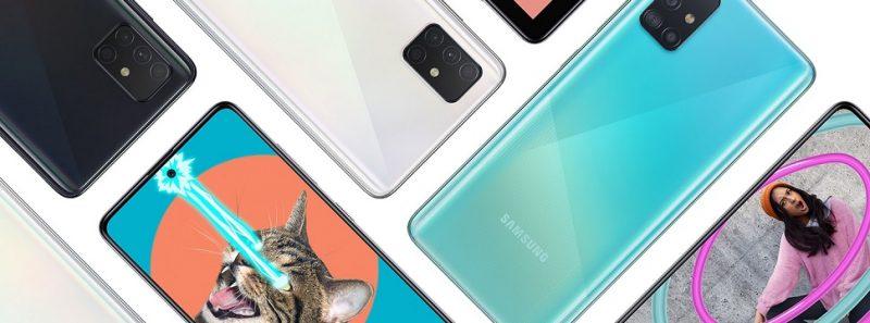 Samsung Galaxy A51 é o smartphone mais buscado em maio; veja lista completa - Divulgação/Samsung