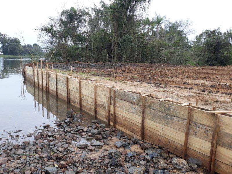 Construção foi iniciada em área de interesse ecológico e paisagístico – Foto: Divulgação/ND