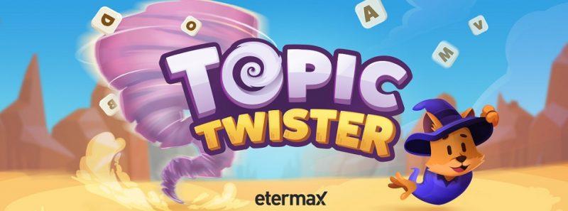 Topic Twister: novo jogo da Etermax é stop para desafiar amigos e desconhecidos - Divulgação/Etermax