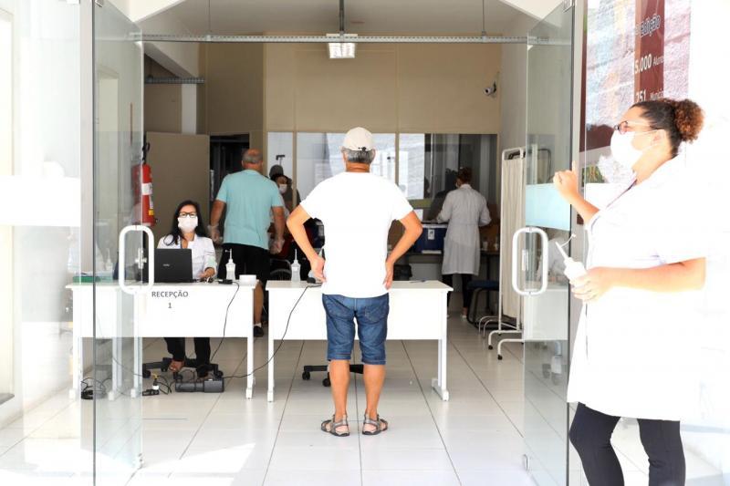 Quem faz parte do grupo prioritário pode receber as doses de imunização contra a gripe até esta terça-feira (30) em Florianópolis – Cristiano Andujar/PMF/Divulgação/ND