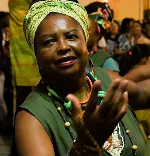 Vanda Pinedo na luta antirracial há quase 30 anos,é uma das pioneiras do MNU em SC – Foto: Cores de Aidê/Divulgação
