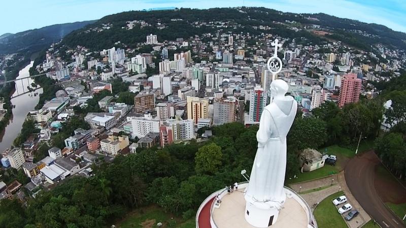 Joaçaba fica na região Meio-Oeste de SC – Foto: Prefeitura de Joaçaba/Divulgação/ND