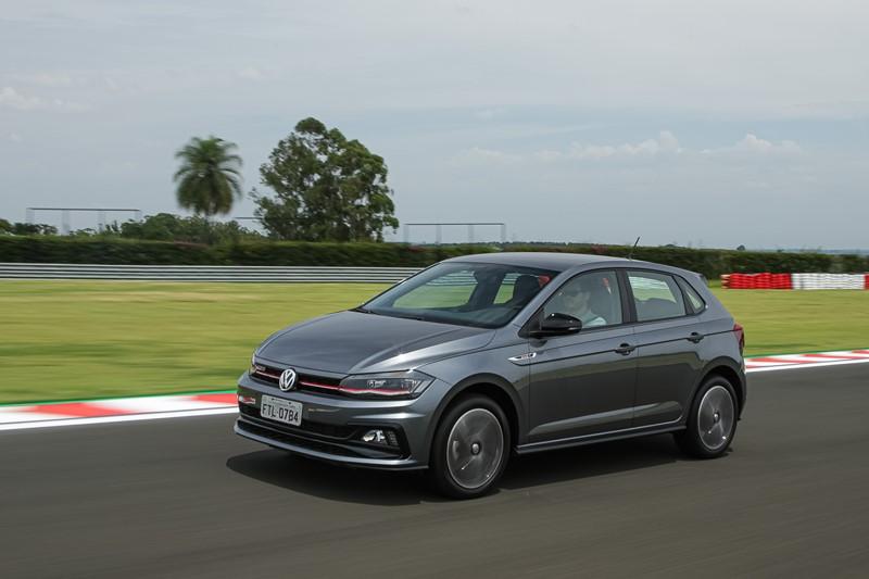 11- Volkswagen Polo: 20.470 unidades - Foto: Divulgação/VW/Garagem 360/ND