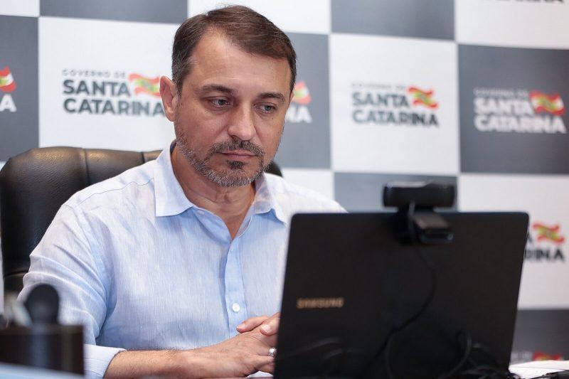 Governador Carlos Moisés – Foto: Mauricio Vieira/Secom/Divulgação/ND