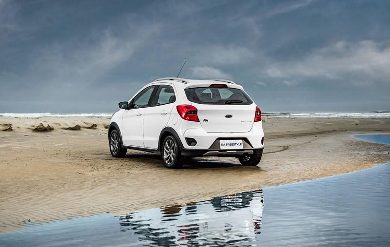 4- Ford Ka: 29.583 unidades - Foto: Divulgação/Ford/Garagem 360/ND
