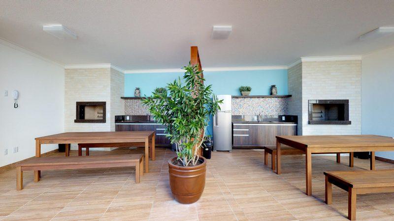 Área social com todo conforto que sua família merece - Foto: AM Construções/Divulgação/ND