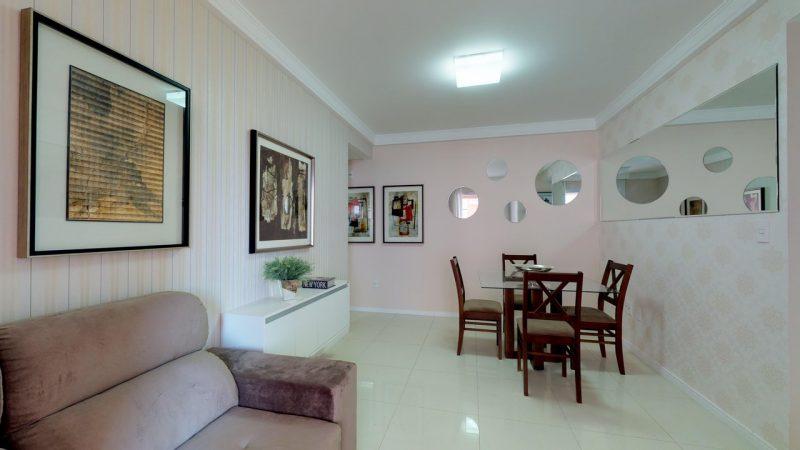 Apartamento decorado permite ter melhor noção do aproveitamento de espaços - Foto: AM Construções/Divulgação/ND